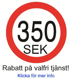 350 sek